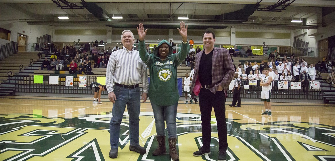 Congratulations to the Golden Eagle Athletic Association Hall of Fame inductees who were honored in February: Tim Shoemaker, Marsha Cleveland, Derek Fox and Ric Thompson (Not pictured).