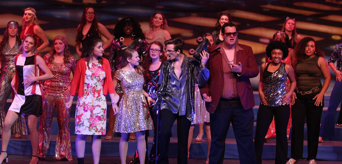 "GlenOak students wow sold-out crowds during their annual ""May Show"" under the direction of Brian Kieffer and Mary Meese."